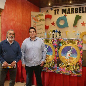 El Carnaval de Marbella comenzará el 12 de febrero y finalizará el 11 de marzo con un extenso programa de actividades