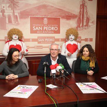 La Tenencia de Alcaldía de San Pedro respalda la campaña especial de San Valentín 'Cupido la lía' impulsada por comercios locales