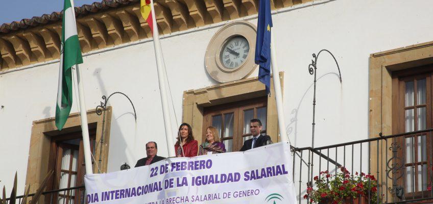 El Ayuntamiento se suma al Día por la Igualdad Salarial con la lectura de un manifiesto
