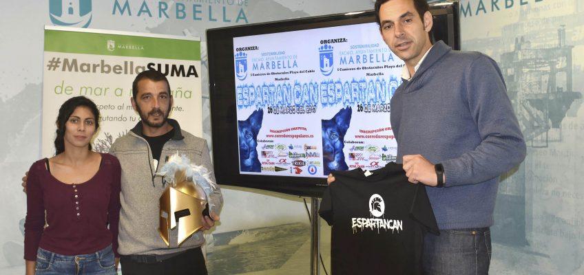 La Playa de El Cable acogerá el 26 de marzo la I EspartanCan, una innovadora carrera de obstáculos donde los asistentes participarán junto con sus mascotas