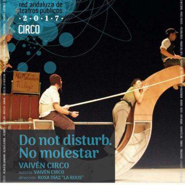 """Conmemoración del Día Mundial del Teatro el 27 de marzo con la puesta en escena de la obra """"Do not disturb. No molestar"""" en el Teatro Ciudad de Marbella"""