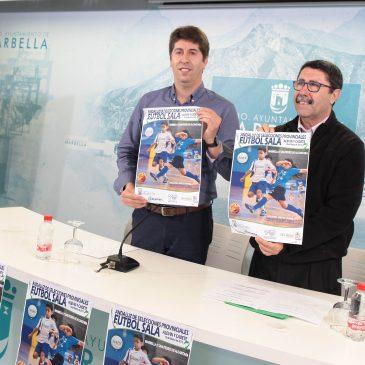 Los Pabellones Carlos Cabezas y Elena Benítez serán escenario el sábado del Campeonato Andaluz de Selecciones Provinciales Alevín y Cadete de Fútbol Sala con un centenar de participantes