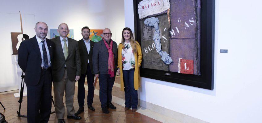 La exposición 'Economistas en el Arte' exhibe 50 obras en el Cortijo Miraflores hasta el 20 de abril