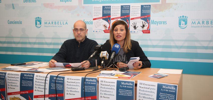 Marbella acogerá esta semana el III Encuentro Nacional para Profesionales, Familiares y Ex Miembros de Sectas