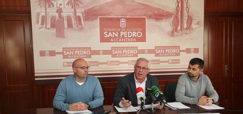 La Tenencia de Alcaldía de San Pedro Alcántara inicia los trámites para dar de baja 40 contadores de agua de titularidad municipal tras detectar deficiencias