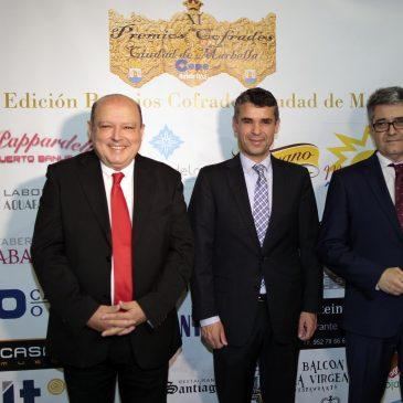 El Palacio de Congresos ha acogido los XI Premios Cofrades Ciudad de Marbella