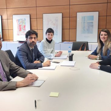 El Ayuntamiento se reúne con Fomento para avanzar en el desbloqueo de la ampliación del Museo del Grabado