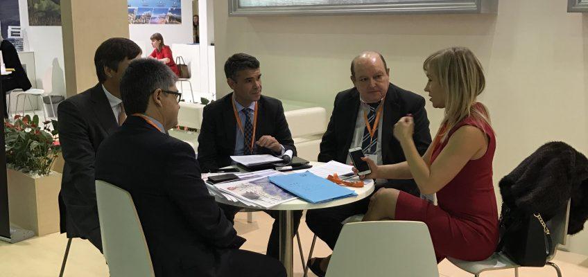 El Ayuntamiento de Marbella mantiene reuniones en la MITT de Moscú para impulsar las inversiones inmobiliarias y el incremento de turistas procedentes de Rusia