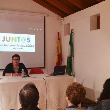 El Cortijo Miraflores acoge una conferencia coloquio y la lectura de un manifiesto con motivo del Día de la Visibilidad Lésbica