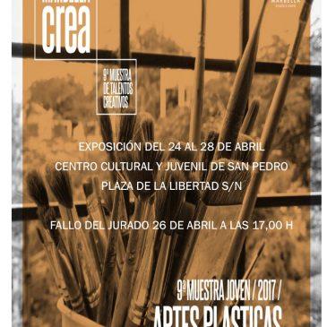 El Centro Cultural San Pedro acogerá del 24 al 28 de abril la exposición de los trabajos presentados a la Muestra Joven de Artes Plásticas