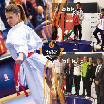 Olympic Karate Marbella se alza con  2 Oros en la Liga Nacional