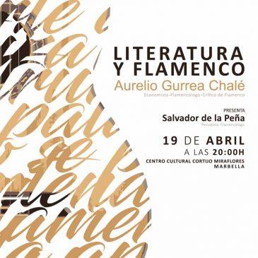 """Conferencia sobre """"Literatura y Flamenco"""" a cargo de Aurelio Gurrea en el Centro Cultural Cortijo Miraflores"""