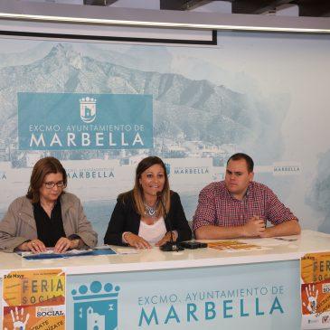 La Feria Social tendrá lugar el día 5 en la Avenida del Mar con la participación de cuarenta asociaciones y la visita de 500 alumnos del municipio