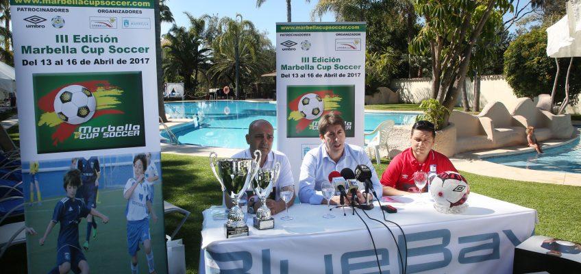 Más de 40 equipos y cerca de 1.000 jugadores participarán en la edición de primavera de la Marbella Cup Soccer del 13 al 16 de abril