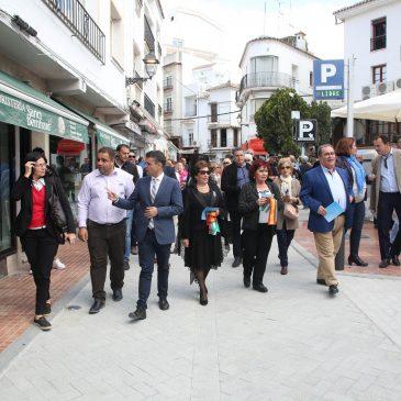 El Ayuntamiento culmina la remodelación de la calle Huerta Chica mejorando la red de saneamiento y solucionando los problemas del embovedado de Río Huelo