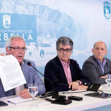 El Ayuntamiento de Marbella va solicitar a la Dirección General de Catastro la revisión de los valores catastrales para la rebaja del IBI y otros impuestos