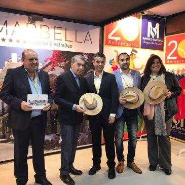 El Ayuntamiento promociona Marbella en la Mutua Madrid Open que reúne a los mejores tenistas del mundo