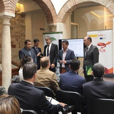 El alcalde asiste a la apertura de la jornada sobre 'El uso efectivo de la marca en el entorno digital internacional' organizada por el CIT
