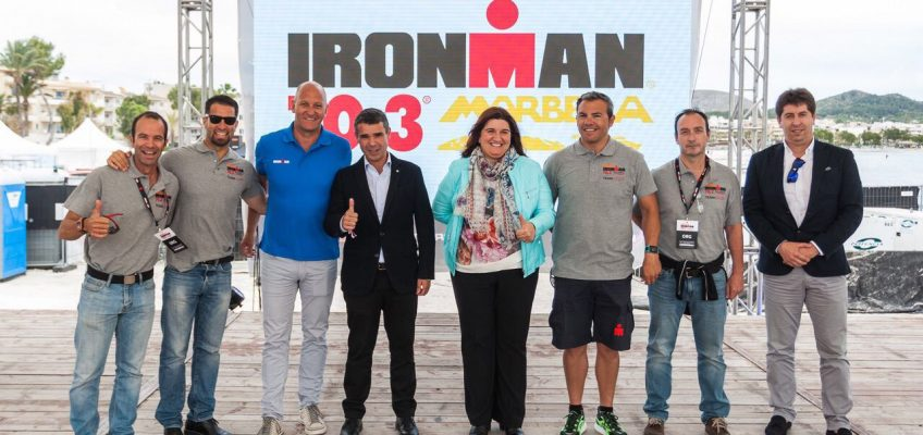 El alcalde destaca la repercusión deportiva, turística, económica y de promoción de Marbella con la celebración en 2018 de una de las pruebas del prestigioso triatlón mundial Ironman