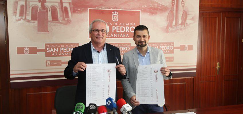 Los presupuestos para San Pedro Alcántara se elevarán a cerca de 7,5 millones en el presente ejercicio