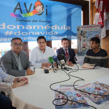 Marbella participará el 3 de junio en 'Verbenavoi. Sonrisas por bandera. Dona médula. Dona vida' que contará con verbenas simultáneas en 30 municipios