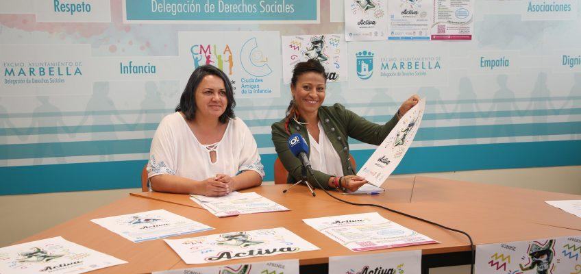 Derechos Sociales pone en marcha con fondos íntegramente municipales una nueva edición del programa de ocio alternativo Activa Marbella
