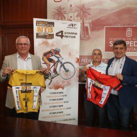 La Vuelta Ciclista a Andalucía MBT recala por segundo año en San Pedro con una etapa en la que participarán este sábado más de 300 deportistas