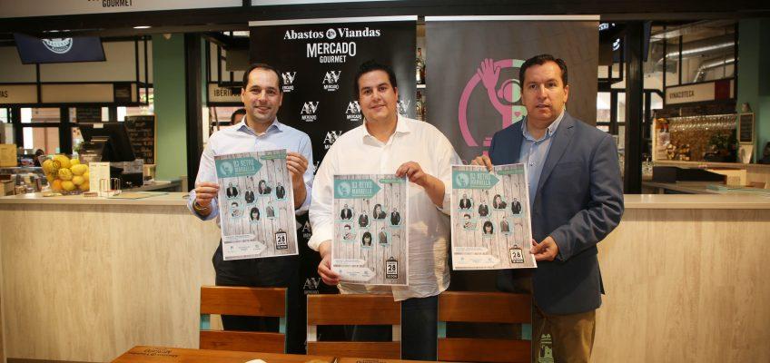 La novena edición del DJ Retro recaudará este domingo fondos para Cáritas en el Mercado Gourmet Abastos & Viandas
