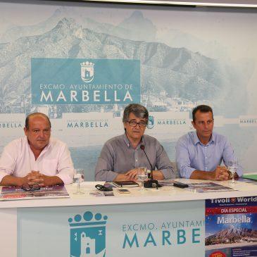 Marbella será este domingo protagonista en el Parque de Atracciones Tívoli