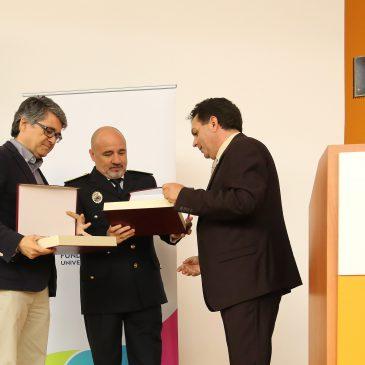 La UMA reconoce la labor formativa de Bomberos y Protección Civil de Marbella en la cátedra de Seguridad, Emergencias y Catástrofes