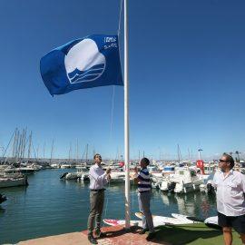El Puerto Deportivo de Marbella se convierte de nuevo en el único recinto portuario de Marbella con Bandera Azul
