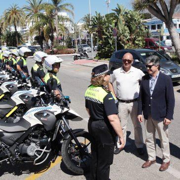 La Policía Local refuerza su unidad de Tráfico con la incorporación de ocho agentes en comisión de servicio