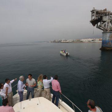 Los trabajos de recuperación de la Torre de El Cable finalizarán en la primera quincena de agosto