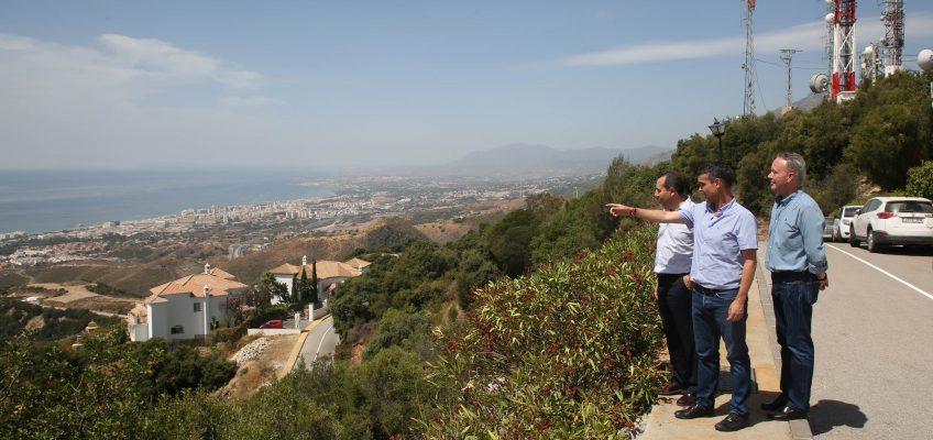 Marbella se suma a la campaña de prevención de incendios forestales