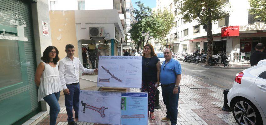 El Ayuntamiento invertirá dos millones de euros en la reforma integral de cuatro calles del centro de Marbella