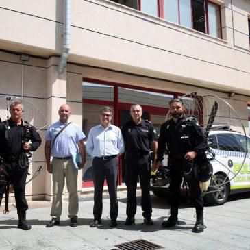 La Policía Local dispondrá de dos unidades de paramotor a partir de septiembre