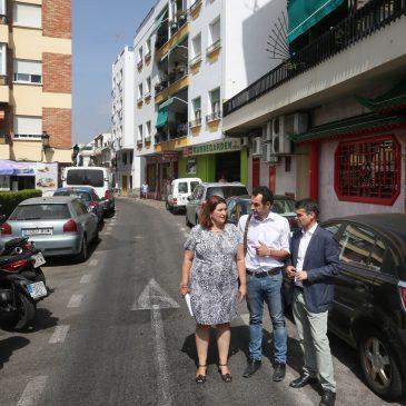 El Ayuntamiento transformará la histórica calle Málaga con una inversión de 1,2 millones de euros