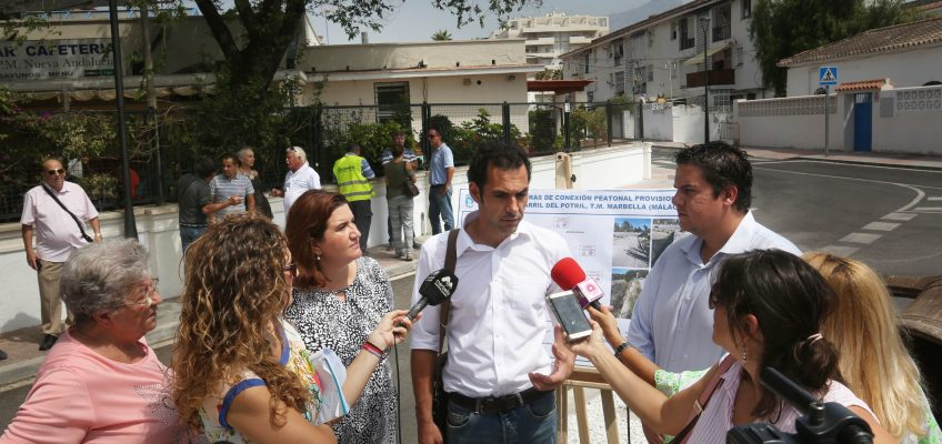El Ayuntamiento impulsa una batería de actuaciones para modernizar Nueva Andalucía