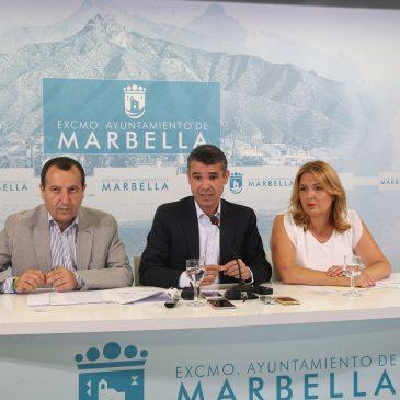 Marbella recibirá 1,1 millones de euros de la Junta de Andalucía para Ayuda a la Contratación y refuerzo de los servicios sociales comunitarios