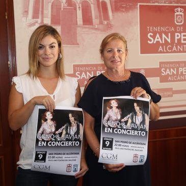 El anfiteatro del Bulevar de San Pedro Alcántara acoge este sábado un concierto gratuito de los cantantes Geno y Javián, concursantes de 'OT 1'