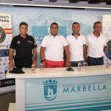 San Pedro Alcántara acogerá desde mañana el XI Campeonato de España de Pádel por equipos para Fuerzas y Cuerpos de Seguridad del Estado