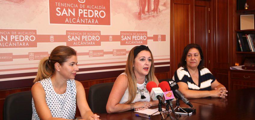 El Ayuntamiento respalda la campaña de Apymespa consistente en el reparto en centros educativos de 2.500 tarjetas de descuento en comercios locales de San Pedro