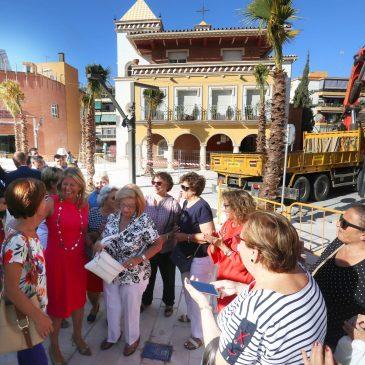 El Ayuntamiento retira las islas ecológicas de la plaza de Divina Pastora