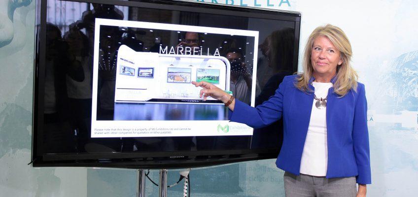 La alcaldesa agradece a ciudadanos e instituciones el apoyo para que Marbella haya sido elegida sede de la eliminatoria de la Copa Davis