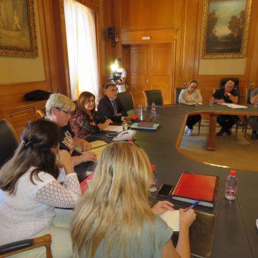 El Ayuntamiento de Marbella ha acogido esta tarde la primera reunión del Consejo Escolar Municipal