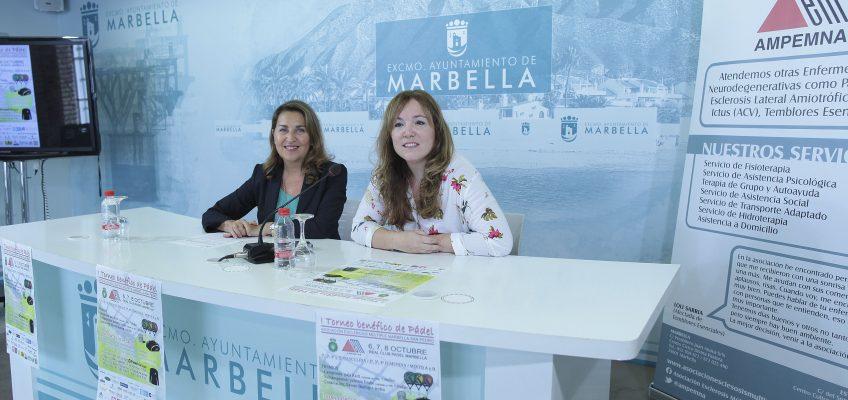 El Real Club de Pádel Marbella acoge desde el viernes el I Torneo de Pádel a favor de la Asociación de Esclerosis Múltiple