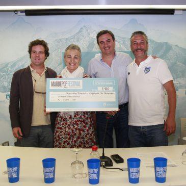 El Marbepop Festival 2017 reúne a más de 3.500 personas en el Arroyo de la Represa y consigue recaudar casi 3.000 euros para las asociaciones Debra y AFA Marbella
