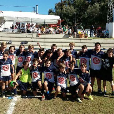 Primera jornada del campeonato andaluz Sub14 y primera victoria, para el representante del Trocadero Marbella, que en la tarde del sábado derrotó al equipo del C.R. Atlético Portuense, por un contundente 39 a 7.