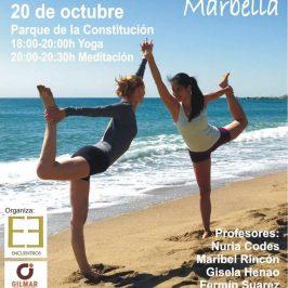 El Parque de la Constitución acoge este viernes el II Encuentro 'Yoga por la paz'
