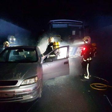 El cuerpo municipal de Bomberos de Marbella participa en un  curso de intervención en túneles